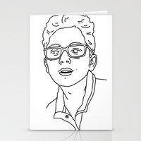 allyson johnson Stationery Cards featuring Alex Johnson by Alex Johnson