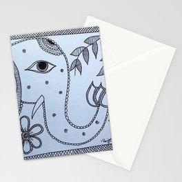 Madhubani Art - Elephant Stationery Cards