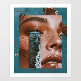 WateR InSide Art Print