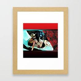 Banner Days Framed Art Print