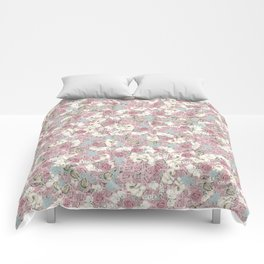 Rosas Comforters
