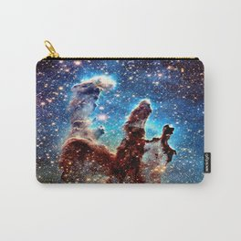 The Pillars of Creation Blue Brown Carry-All Pouch