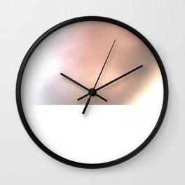 Pink Blur / Tones of P Wall Clock