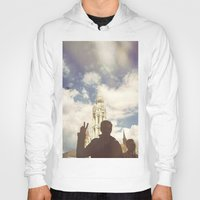 budapest hotel Hoodies featuring Budapest by BriAnneWills