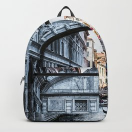 Bridge of Sighs, Venice, Italy Backpack