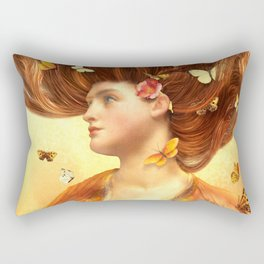 Flickering Dreams Rectangular Pillow