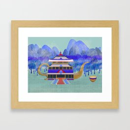 There Once Was A Palace In China Framed Art Print