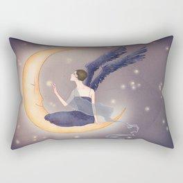 Midnight fairy Rectangular Pillow