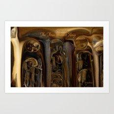 The Three Ancient Kings -Sherri Of Palm Springs Art Print