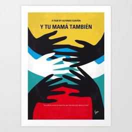 No468 My Y Tu Mama Tambien mmp Art Print
