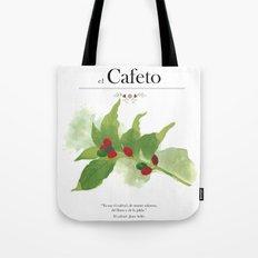 el Cafeto (coffee plant) Tote Bag