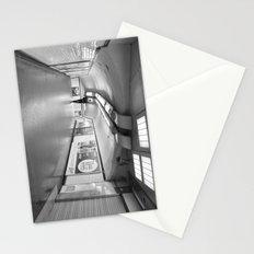 Dans le métro parisien Stationery Cards