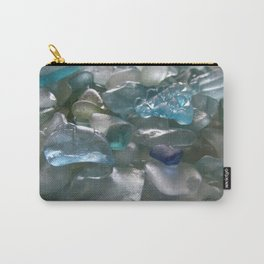 Ocean Hue Sea Glass Assortment Carry-All Pouch