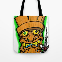 Cocktail Weenie and the Tiki Hut Tote Bag