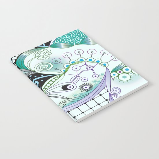 Winter tangle Notebook