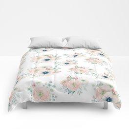 Dog Rose Pattern 2 Comforters