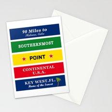 USA Florida Cuba Stationery Cards
