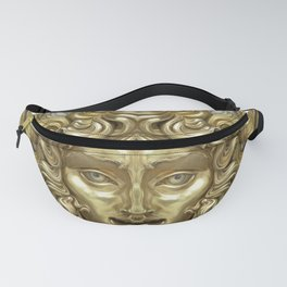 """Ancient Golden and Silver Medusa Myth"" Fanny Pack"