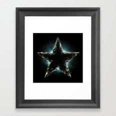 Rock Star Framed Art Print