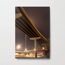 Vertical Swoop Metal Print