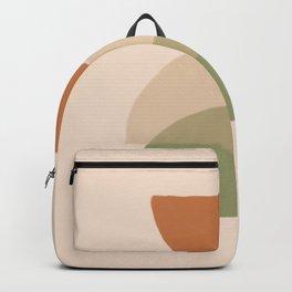 Half round Boho Earth Tones  Backpack