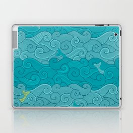 Surf Side - AQUA Laptop & iPad Skin