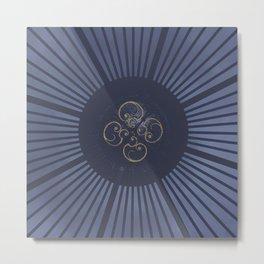 """The Eye at Kew"" Metal Print"