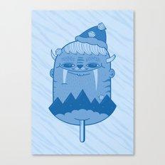 King of Mountain Canvas Print