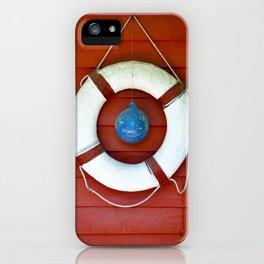 Life Buoy iPhone Case