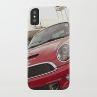 mini cooper iPhone & iPod Cases featuring Mini by SShaw Photographic