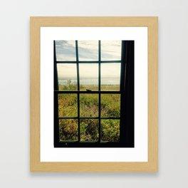 Inside the lighthouse Framed Art Print