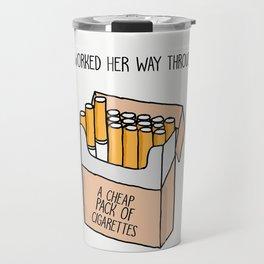 Harry Styles Kiwi Artwork Travel Mug