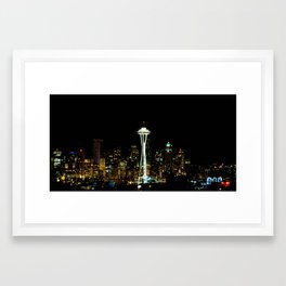Seatown Framed Art Print