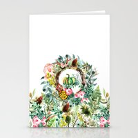 new year Stationery Cards featuring NEW YEAR by Burcu Korkmazyurek