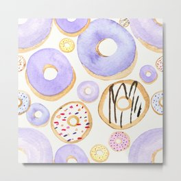 In Love With Donuts Metal Print