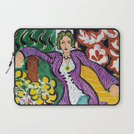 Woman in a Purple Coat 1937 by Henri Matisse, Artwork Design, Poster Tshirt, Tee, Jersey, Postcard Laptop Sleeve