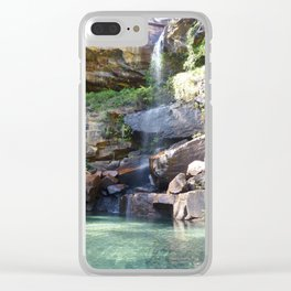 Blackdown Tableland Oasis Clear iPhone Case