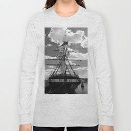 Baltimore Harbor - USS Constellation Long Sleeve T-shirt
