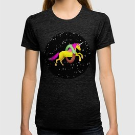 Unicorn Space Donut T-shirt