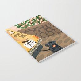 Tour #illustration Notebook