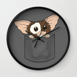 Pocket Gizmo (Mogwai) Wall Clock