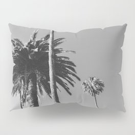 Palm Trees (Black and White) Pillow Sham