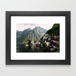 Hallstatt II Framed Art Print