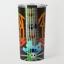 Fusion Keyblade Guitar #198 - Pumpkinhead & Dual Disk Travel Mug