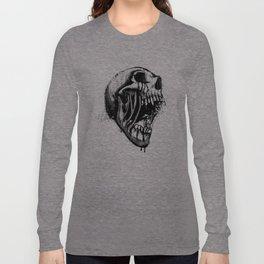 Melting Primal Scream - Skull Long Sleeve T-shirt