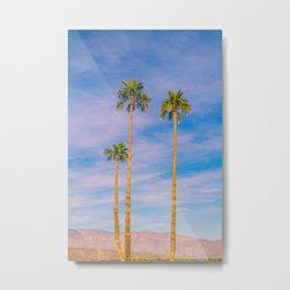 Palm Trees, Palm Tree, Desert, California, Summer, Landscape Photography, West Coast, Cali, Beach Metal Print