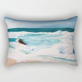 Day at the Sea Rectangular Pillow