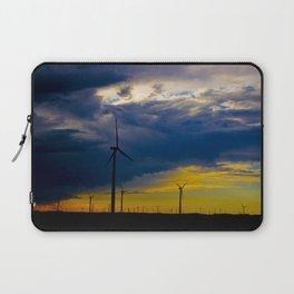 Rainbow Windmills Laptop Sleeve