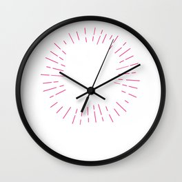 Hot Mess Mom Wall Clock