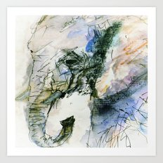 Elephant Queen Art Print